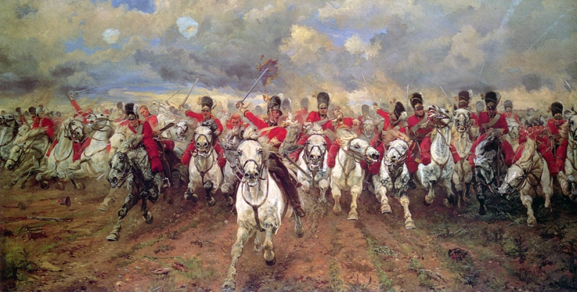 Scotland Forever aka Charge of the Scots Greys