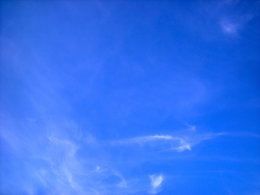 'Nuthin but blue skies'