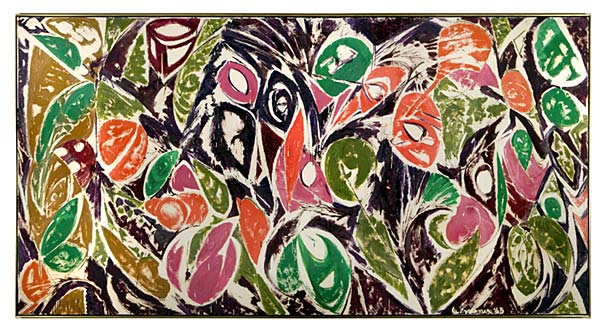 lee krasner Right Bird Left