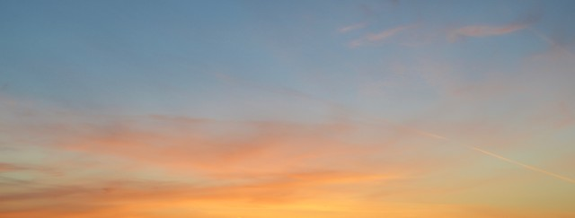 'Orange Skies Carnivals and Cotton Candy'