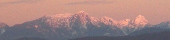 Sunrise on the Tantalus