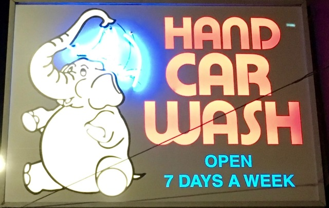 Happy Elephant Car Wash